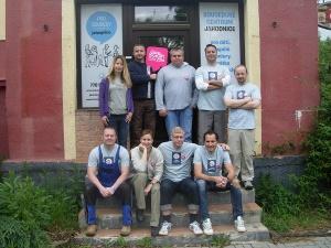 Dobrovolníci z firmy Tchibo Praha